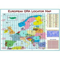 Carte Murale QRA Locators Européens Version 2
