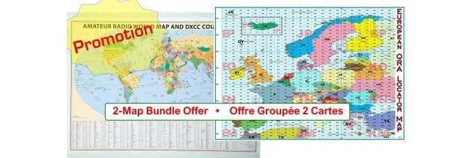 Offre Groupée - Cartes Radioamateurs
