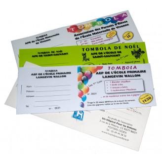 Tickets de Tombola Personnalisés Petit Prix